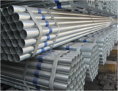 seamless steel galvanized steel pipes