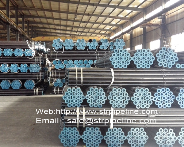 black steel pipe factory/manufacture