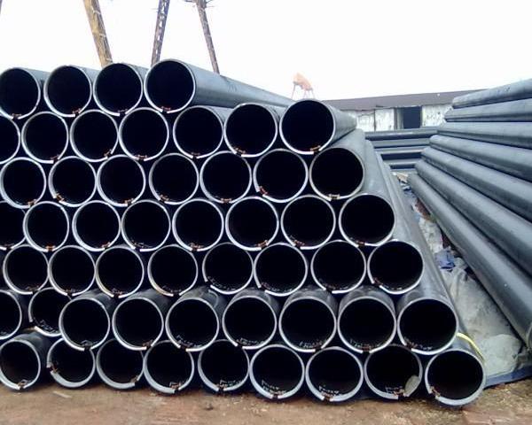 Seamless Hot Rolled Black Carbon Steel  High Pressure Boiler Pipe